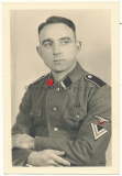 Portrait Waffen SS Rottenführer
