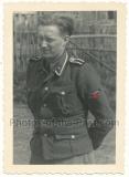 Waffen SS Unterscharführer mit Nahkampfspange NKS