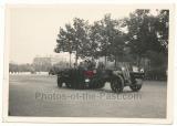 Panzer Halbkette der Leibstandarte Adolf Hitler in Paris Frankreich