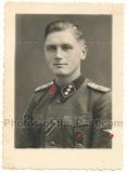 Portrait Waffen SS Untersturmführer Leibstandarte Adolf Hitler LAH 1943
