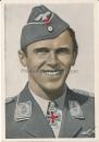 Hoffmann VDA Ritterkreuzträger Postkarte Major Hans Philipp
