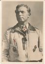 Hoffmann VDA Ritterkreuzträger Postkarte Oberstleutnant Oesau