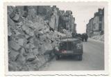 Waffen SS Totenkopf Austin car Tours France 1940