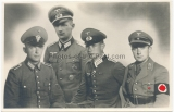 Portrait Polizei Beamter Wehrmacht Heer Offiziere Partei Funktionär