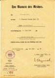 Urkunde Eisernes Kreuz 2. Klasse und Dokumente Pionier Bataillon 33 und 34