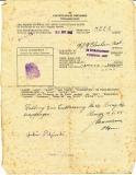 Urkunde Eisernes Kreuz 2. Klasse 9. Infanterie Regiment 216 - 86. Infanterie Division und POW Entlassungsschein Lemgo 1945