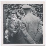 Adolf Hitler und Reichsführer SS Heinrich Himmler in Kielce Polen 1939