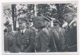 Adolf Hitler Erwin Rommel und General Walter von Reichenau in Kielce Polen 1939