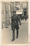 SS Unterscharführer der Leibstandarte Adolf Hitler in Detmold 1942 - LAH