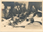 Konvolut 3 Fotos SS Offiziere und SS Fußball Mannschaft in Apeldoorn Holland 1943