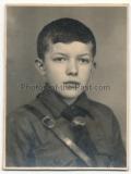Pass Portrait Hitlerjunge - Atelier Glatz - HJ - Hitlerjugend
