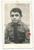 Pass Portrait Hitlerjunge - Gau Süd Baden - HJ - Hitlerjugend
