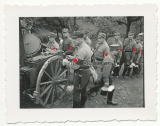 SA Männer an der Feldküche 1935
