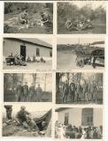 22 Fotos Waffen SS Panzer Grenadier Regiment Leibstandarte Adolf Hitler an der Ostfront in Russland - LAH