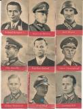 9 WHW Heftchen Ritterkreuzträger Heer Luftwaffe Waffen SS U Boot Kriegsmarine Wehrmacht Offiziere