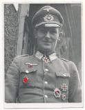 Ritterkreuzträger des Heeres - Deutsches Kreuz in Gold