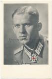 Portrait Ritterkreuzträger Leutnant Heinrich Niemann Pionier Bataillon 196 - 96. Infanterie Division