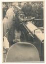 Generalfeldmarschall Hermann Göring in Reggio Italien 1942 am Flak Entfernungsmesser