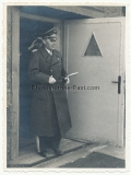 Generalfeldmarschall Kesselring auf dem Fliegerhorst Lyck in Polen 1941 - Ritterkreuzträger der Luftwaffe