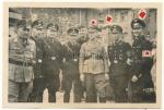 SS NSKK Partei Offiziere bei Presentation des VW KdF Wagens in Gera