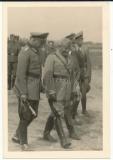 Adolf Hitler und Duce Benito Mussolini in Terespol Polen 1941