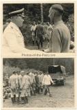 4 Fotos Generalfeldmarschall Kesselring in Orscha Belarus Waldlager Raubritter 4 - Ritterkreuzträger der Luftwaffe