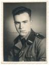 Konvolut 4 Fotos Waffen SS Portrait Kamaraden etc...