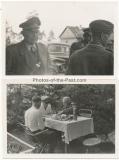 2 Fotos Generalfeldmarschall Kesselring im Osten - Ritterkreuzträger der Luftwaffe