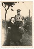 Sturmabteilung SA Mann mit Ehefrau