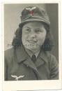 Portrait Nachrichtenhelferin der Luftwaffe