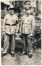 Portrait Wehrmacht und Kolonien Offizier Elefantenorden Kolonialabzeichen