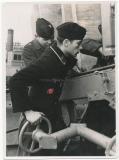 U Boot Matrose mit Deutschem Kreuz in Gold