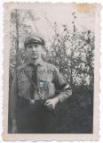 Hitlerjunge mit HJ Abzeichen