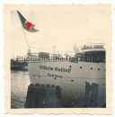 Wilhelm Gustloff Dampfer im Hafen Hamburg