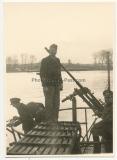 5 Fotos U Boot U 138 Kommandant Wolfgang Lüth in einem Hafen im November 1940 - Ritterkreuzträger der Kriegsmarine