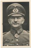 Hoffmann Portrait Karte Ritterkreuzträger des Heeres General von Knobelsdorff