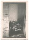 Verhungerte Leiche in Nowgorod 1941