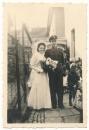 Hochzeit Foto Waffen SS Oberscharführer Spieß mit Frau .....