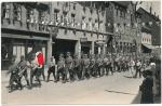 SA Männer marschieren .... 1933