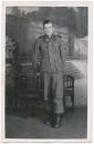 Portrait Waffen SS Mann mit Ärmelband Leibstandarte Adolf Hitler .... LAH
