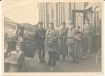 Ministerpräsident Marschler Thüringen neben SS Chaufeur nach Besuch des Kaliwerkes Heiligenroda 1934