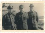Deutsches Kreuz in Gold Träger - Major des Heeres mit Kameraden