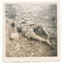 Toter französischer Soldat
