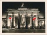 Das Brandenburger Tor in Berlin beim Empfang des Admiral Miklós Horthy 1938
