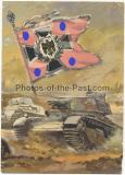 Postkarte Ansichtskarte Panzer Ersatz Abteilung 11
