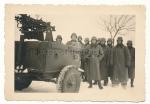 MG 34 Flak Zwillingssockel Gefechtswagen Anhänger