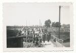 Organisation Todt Männer beim Brückenbau