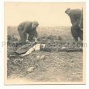 Toter russischer Offizier Russland 1941