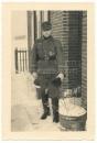 Portrait Spieß mit Krimschild und Infanterie Orden EK usw...